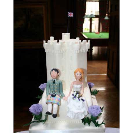 Dundas Castle Dundas Castle Wedding Cakes, Edinburgh.